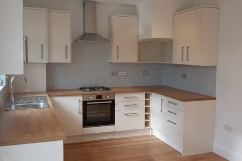 Kitchen renovation and extension in Raynes Park
